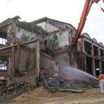 Abbattimento polveri di demolizione