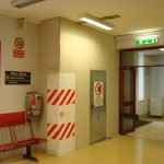 Confinamento cantiere in edificio ospedaliero