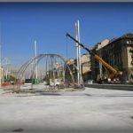 Costruzione di fontana Igloo di Merz