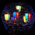 Installazione Luci d'Artista Nido Cosmico