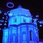 Installazione Luci d'Artista Piccoli Spiriti Blu