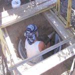 Pozzo eseguito con scavo manuale